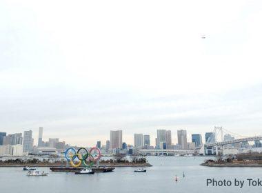 Llegan los aros olímpicos a Japón
