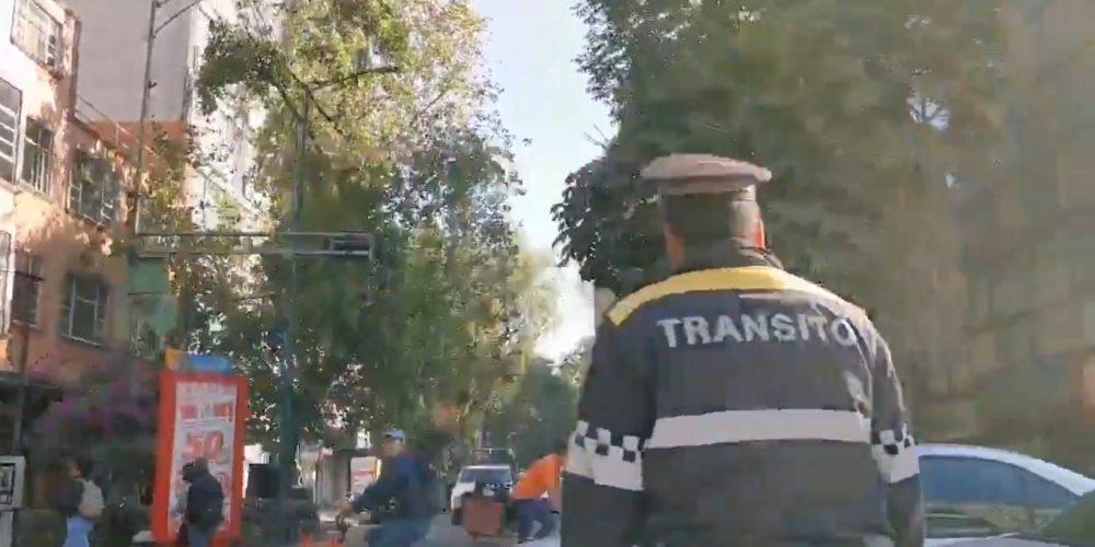 Policía de CDMX insulta a Paola Rojas