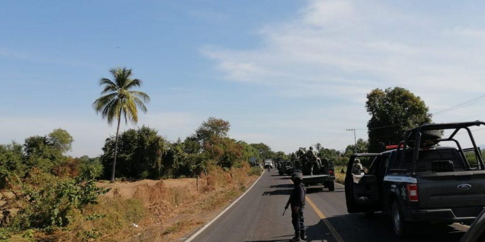 Refuerzan seguridad en Churumuco por grupo armado