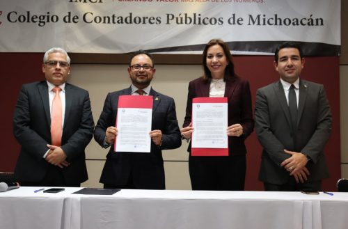 UNLA y Colegio de Contadores signan convenio