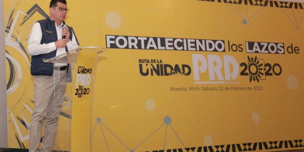 El PRD fortalece ruta de la unidad con dirigentes municipales