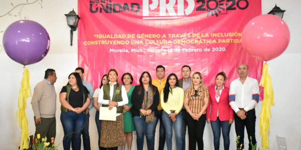 Mujeres del PRD definirán proceso electoral del 2021