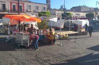 309 ambulantes se instalan en el centro histórico de Morelia