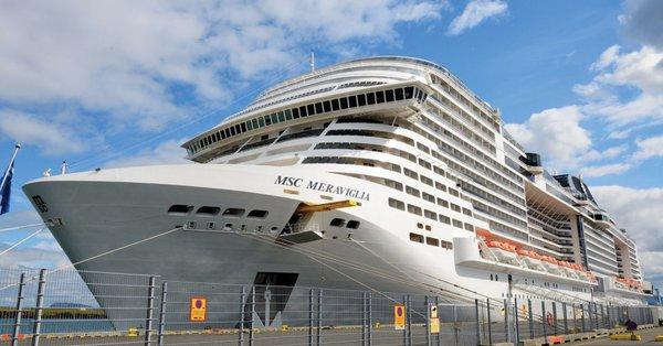 Inician protocolo sanitario a pasajeros del crucero Meraviglia