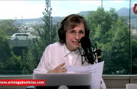 Presidente el paro feminista no es contra su gobierno: Aristegui