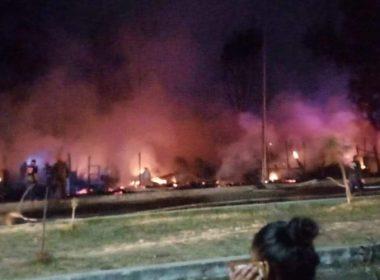 incendio en Praderas