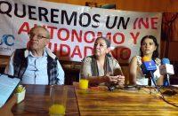 Colectivos realizarán cadena humana para pedir autonomía del INE