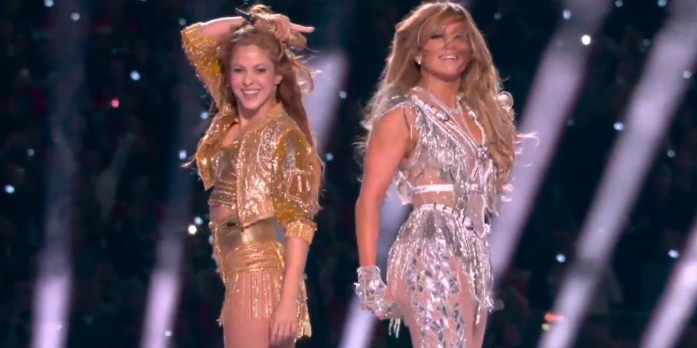 JLO y Shakira hacen vibrar el Super Bowl LIV
