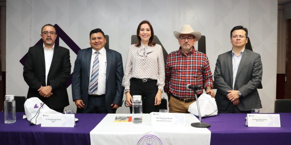 """UNLA presenta el libro """"Un modelo de paz y seguridad pública por México"""""""