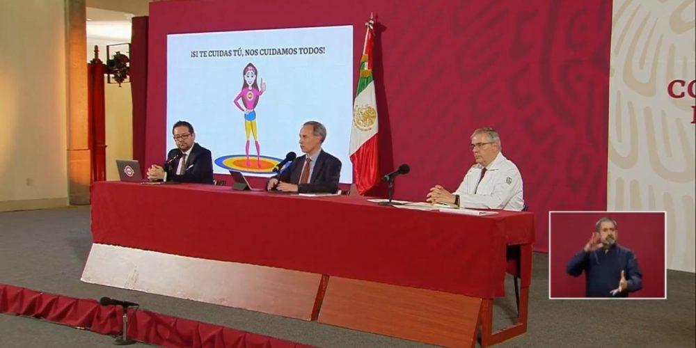 Hugo Lopez Gatell suspensión Gobierno Federal
