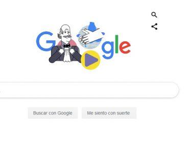 Recuerda Google a Ignaz Semmelweis y promueve el lavado de manos