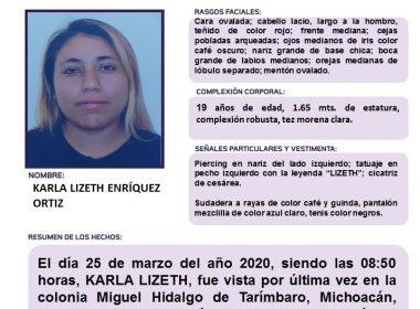Activan Alerta Alba por Karla Lizet Enríquez Ortiz