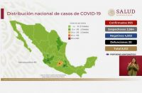 Suman 20 casos de muertes por coronavirus en México