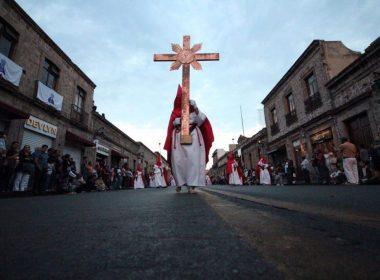 """En """"veremos"""" Procesión del Silencio y actividades de Semana Santa en Morelia"""