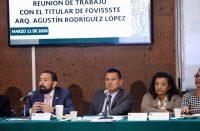 El Infonavit dará tolerancia de pago anuncia Torres Piña