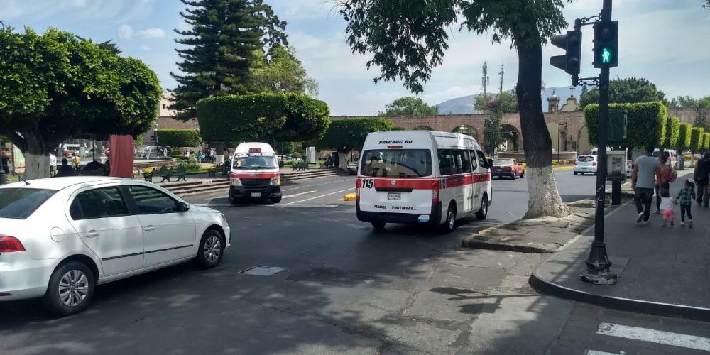Obligarán al transporte público por Ley a realizar sus paradas en zonas establecidas por autoridades