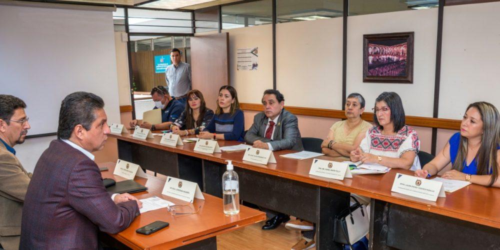 Rector Raúl Cárdenas toma protesta a integrantes del Comité de Salud Institucional de la UMSNH