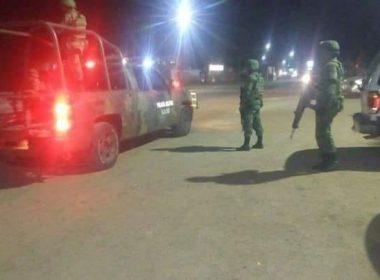 Se enfrenta Ejército e integrantes del CJNG en Aguililla