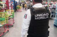 Policía municipal pide a locatarios estar atentos ante posibles saqueos