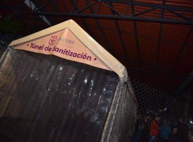 Ayuntamiento podría colocar túneles sanitizantes en Morelia
