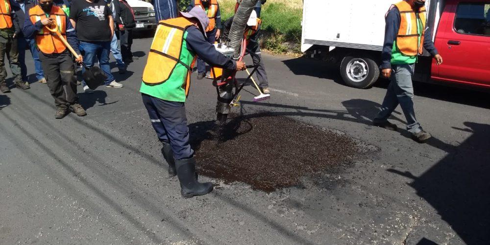En lo que va del año, 258 calles han contado con bacheo en Morelia: SUOP