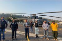 """Desplegados, más de 250 brigadistas para combatir incendio en cerro """"El Cacique"""", informa Carlos Herrera"""