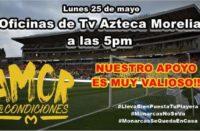 Aficionados del Monarcas continuarán con manifestaciones, hoy será en Tv Azteca
