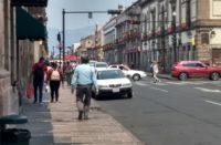 En la última semana, movilidad en el centro histórico ha bajado solamente un 15%