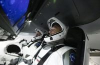 Lanza NASA primer cohete tripulado al espacio