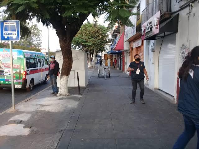 Hasta el momento, 94 ambulantes reubicados en otras vialidades de Morelia