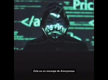 Anonymous amenaza a policías de EU