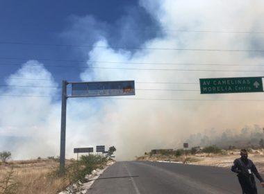 Incendio en Ramal Camelinas podría ser controlado en unas horas: PC municipal