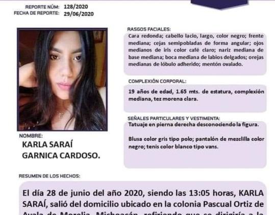 Activan Alerta Alba por Karla Saraí Garnica Cardoso