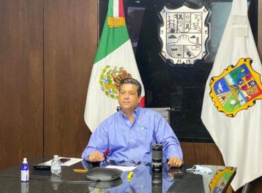 Gobernador de Tamaulipas da positivo a coronavirus