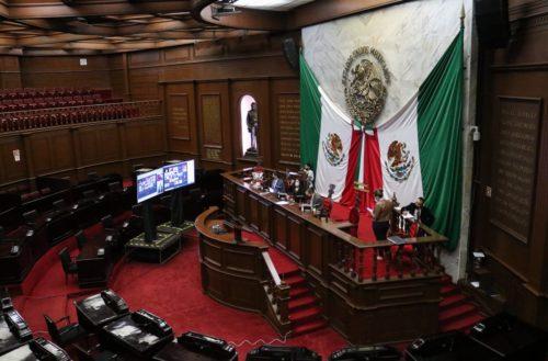Congreso de Michoacán conformó marco para próximo proceso electoral