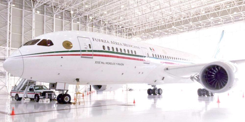 avión presidencial atletas olímpicos