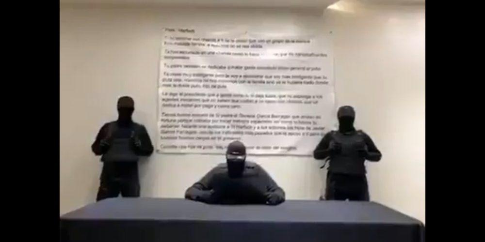 Persisten amenazas del CJNG contra García Harfuch