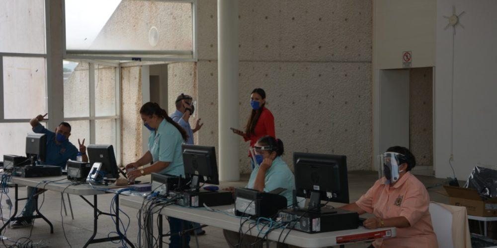 Con estricto apego al protocolo sanitario, UMSNH inicia proceso de asignación de plazas para servicio social