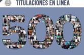 UMSNH registra 500 titulados