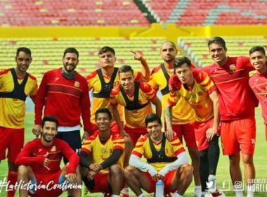 12 integrantes del Atlético Morelia