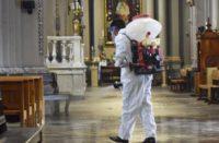 10 Iglesias de Morelia sanitizadas contra Covid
