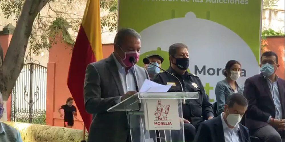 Estrategia Nacional para Prevención de Adicciones arranca en Morelia