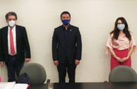 UMSNH sostiene reunión con funcionarios