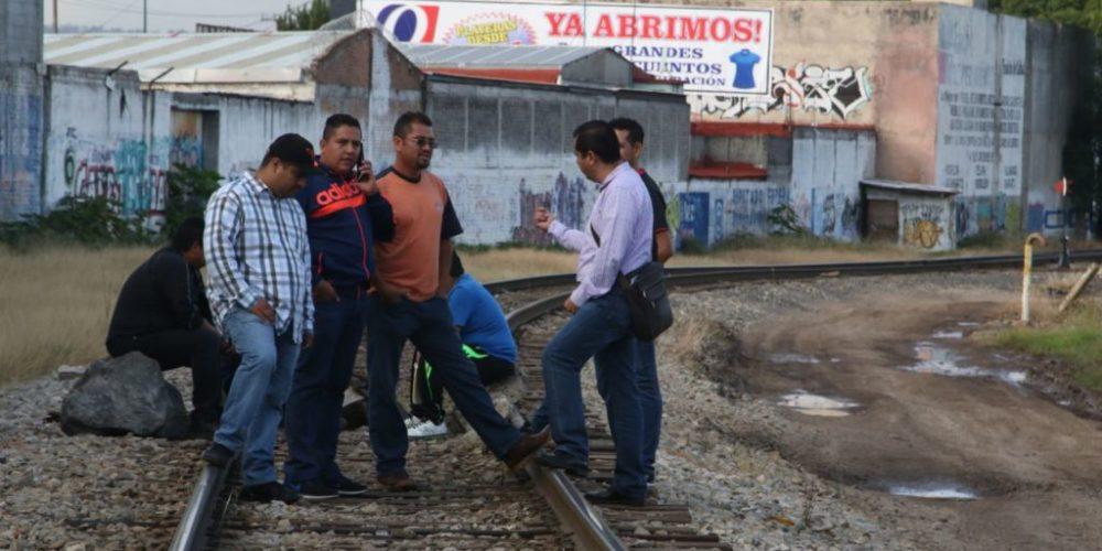 Magisterio estatal bloqueará vías del tren este lunes
