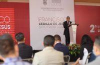 Paco Cedillo en su Informe de Actividades destaca los grandes logros en favor de los michoacanos