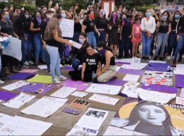 Continúan protestas para exigir justicia por Jessica; Apatzingán clamó cese a la violencia