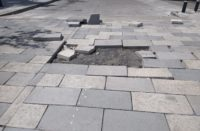 Se rompen mosaicos en obra de Trincheras; pasó lo mismo que Santa María: SUOP