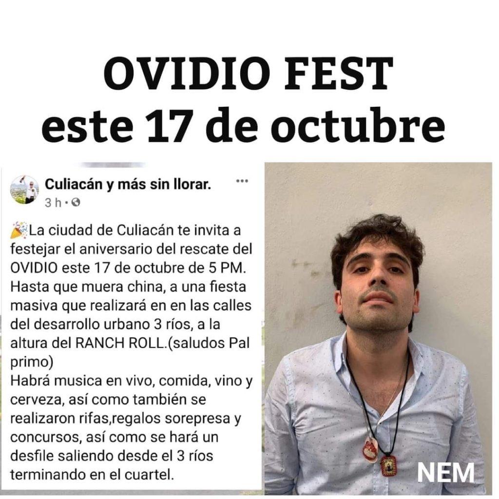 Ovidio Fest; celebrarán liberación