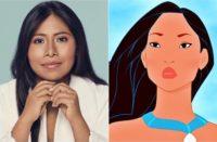 Yalitza Aparicio como Pocahontas