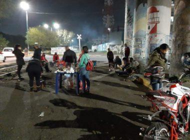 CNTE instala campamento en Morelia